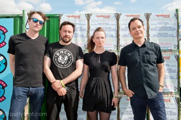 Wychwood Festival 2017 The Wedding Present
